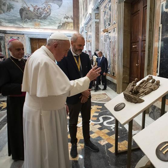 via crucis gerusalemme realizzazione formelle in bronzo - 1