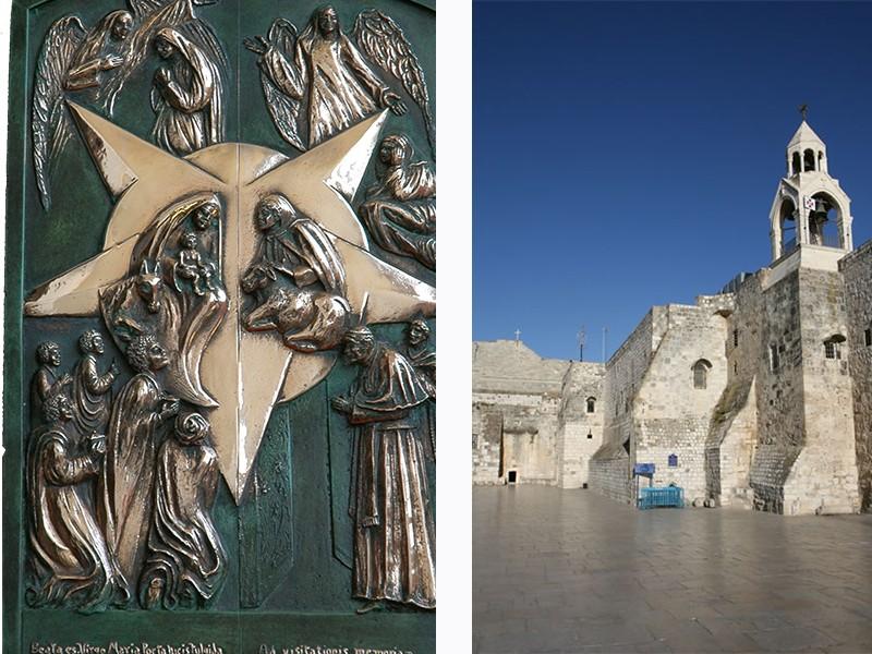 porta della basilica della natività fusioni cera persa