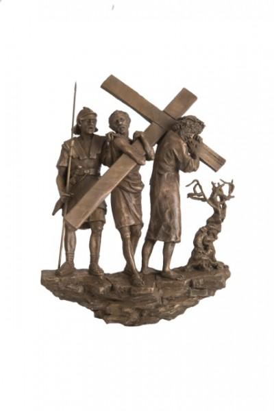 via crucis stazioni, riproduzione originale
