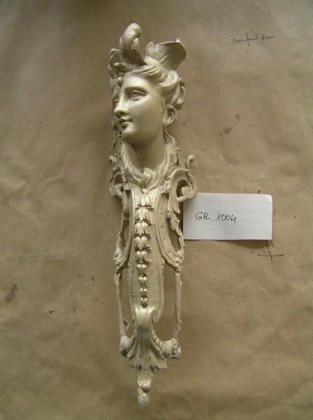 Ancient style furniture friezes - art bronze sculpture