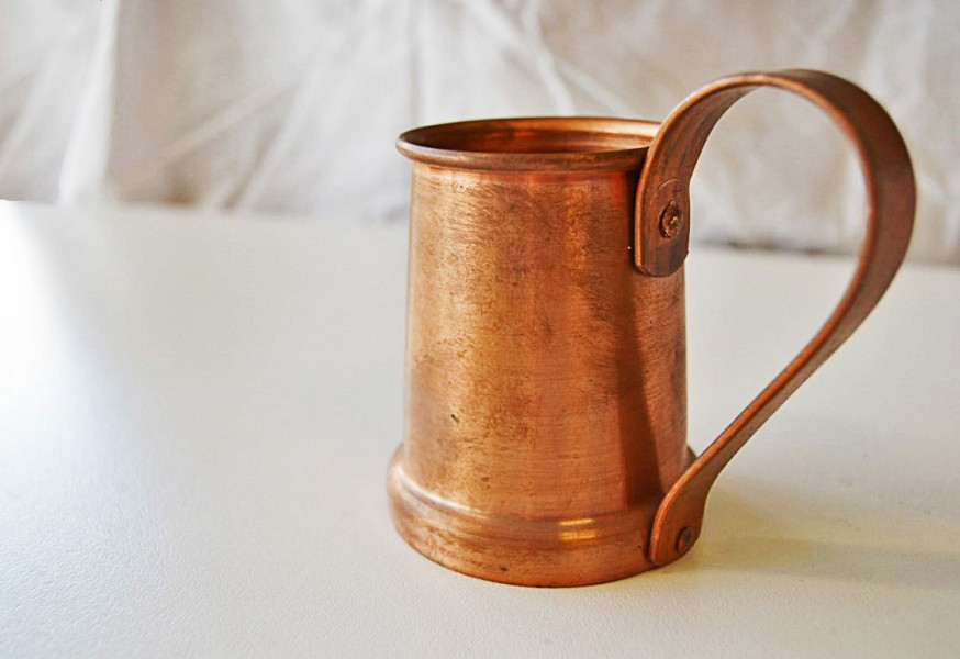 Copper jug - bronze and copper metal work