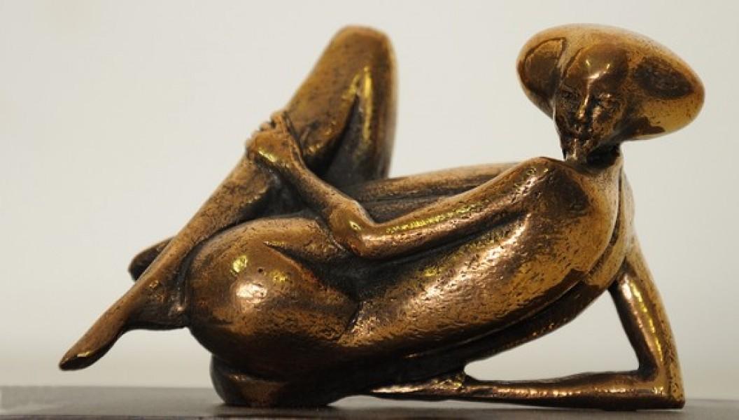arte bronzo - scultura bronzo donna