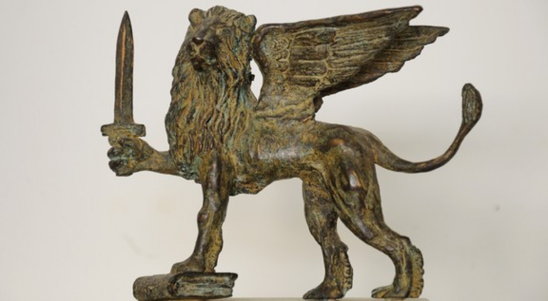 art bronze sculpture - bronze-lionof-venice