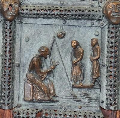 Formella di San Zeno - s.zeno e i legati