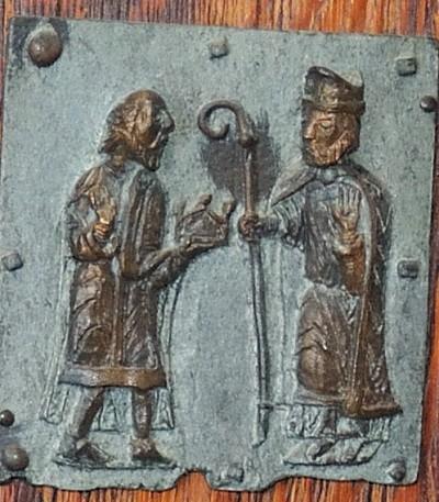 Formella di San Zeno - san zeno e gallieno