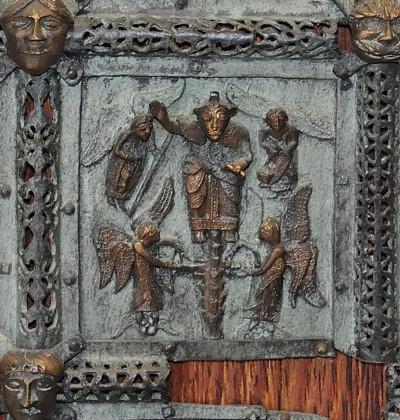 Formella di San Zeno - gloria di dio