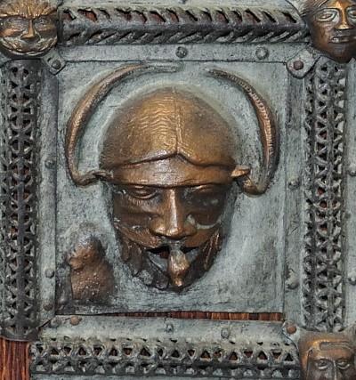 Formella di San Zeno - mascherone