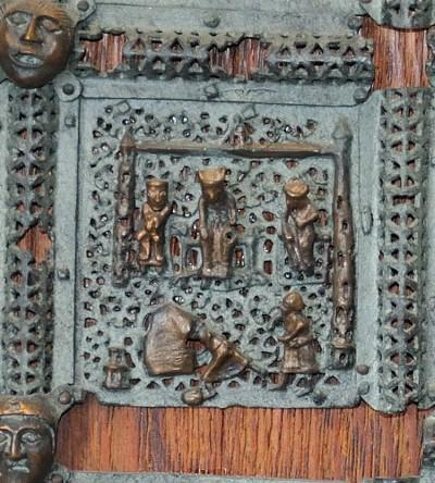 Formella di San Zeno - nabuccodonosor