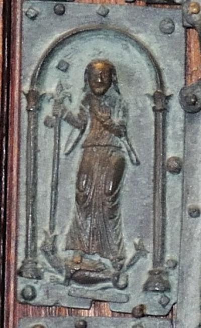 Formella di San Zeno - regina