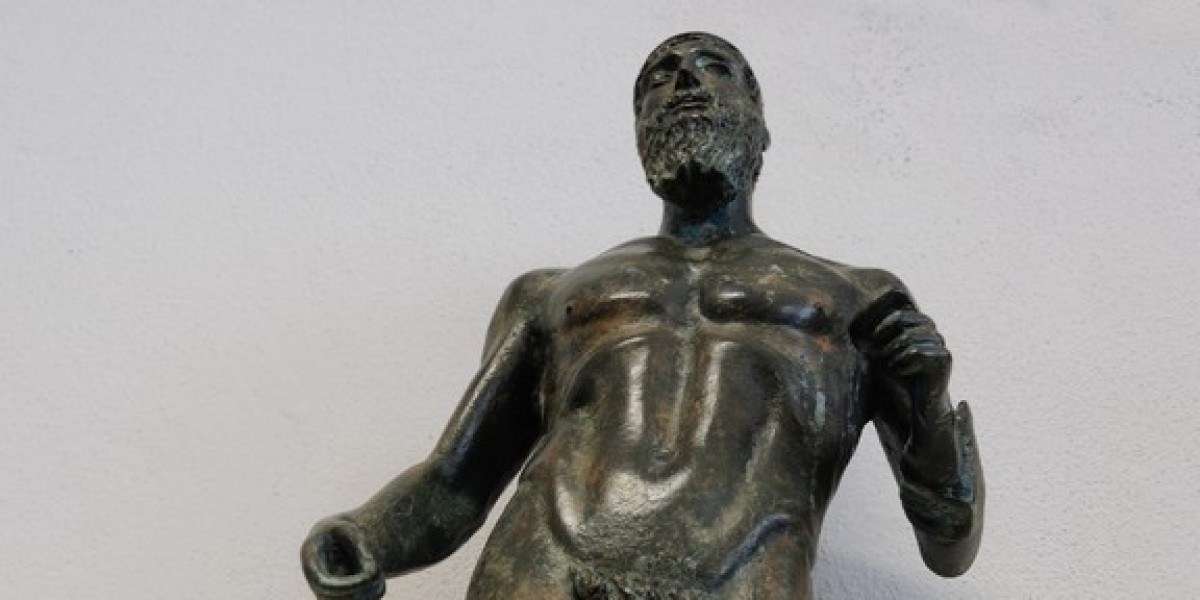 art bronze sculpture - sculpture bronze of riace