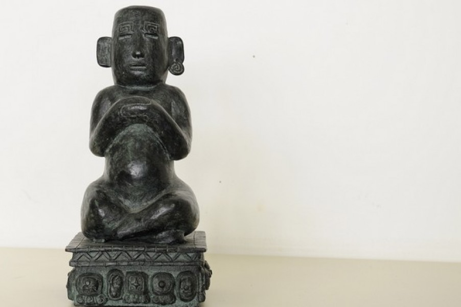 art bronze sculpture - Indian style bronze sculpture