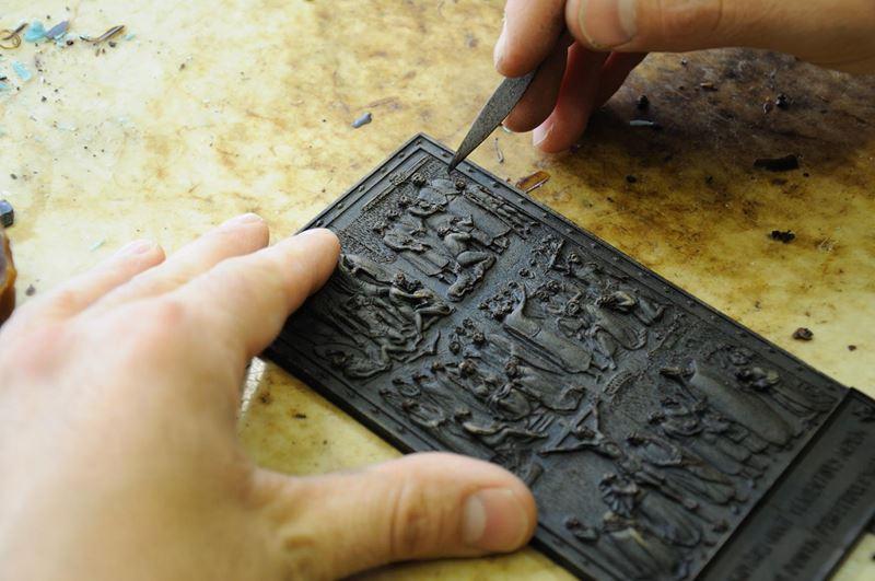 laboratorio fonderia artistica bronzo bmn arte - 4