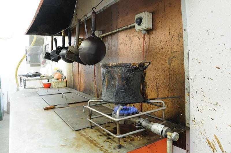 laboratorio fonderia artistica bronzo bmn arte - 5