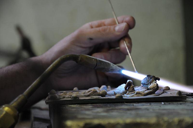 laboratorio fonderia artistica bronzo bmn arte - 10