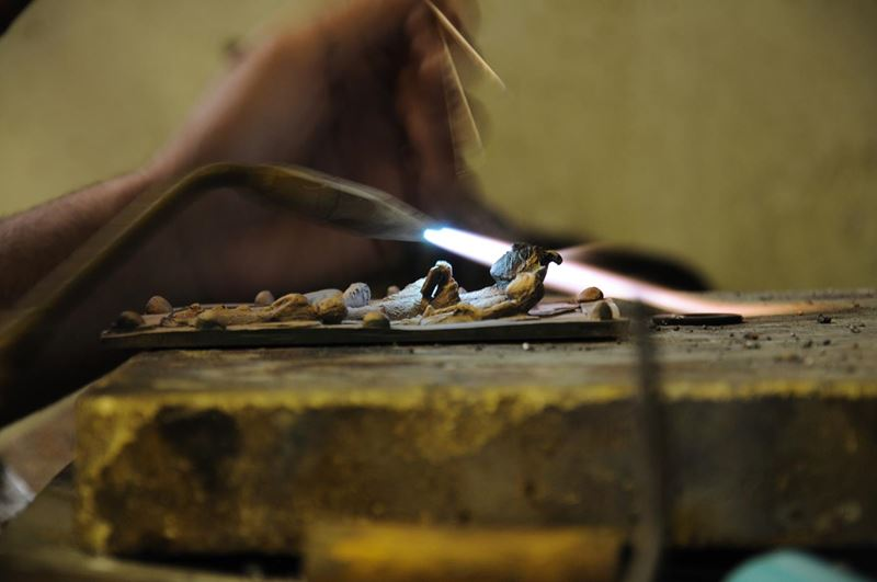 laboratorio fonderia artistica bronzo bmn arte - 11