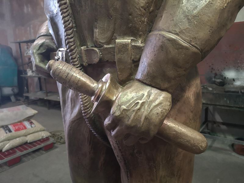 laboratorio fonderia artistica bronzo lost wax bronze - 18