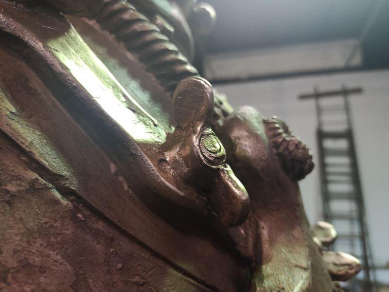laboratorio fonderia artistica bronzo lost wax bronze - 19
