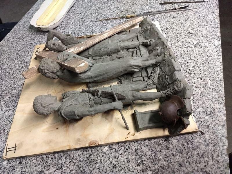 laboratorio fonderia artistica bronzo bmn arte - 24