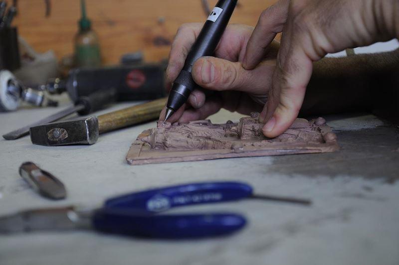 laboratorio fonderia artistica bronzo bmn arte - 27