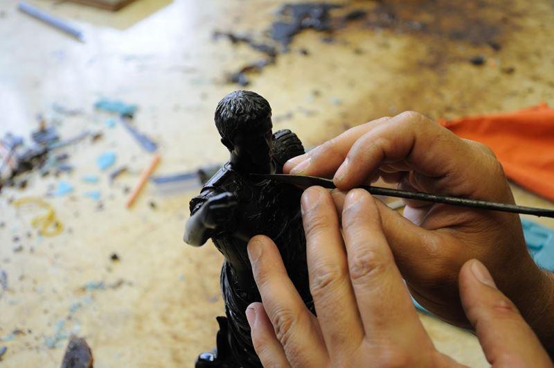 laboratorio fonderia artistica bronzo bmn arte - 28