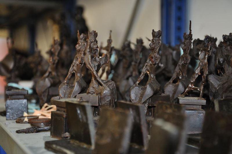laboratorio fonderia artistica bronzo lost wax bronze - 31