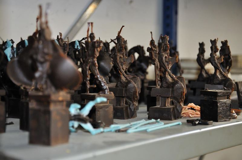 laboratorio fonderia artistica bronzo lost wax bronze - 32